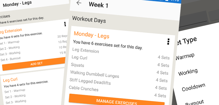 Gym Workout Tracker Overview