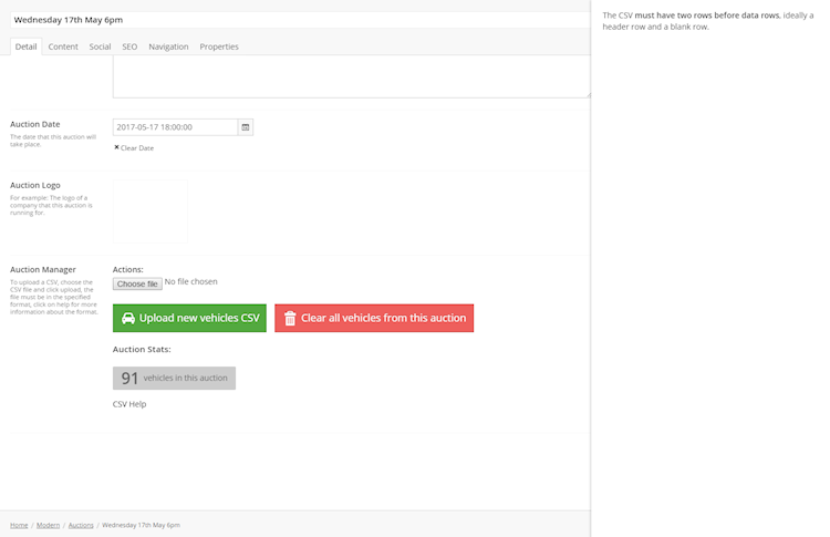 Example Umbraco Modal Window